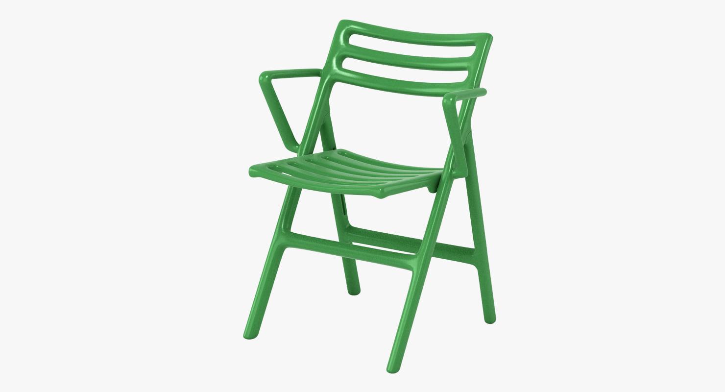 3d magis folding air chair