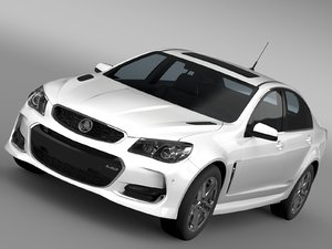 c4d holden commodore ss v