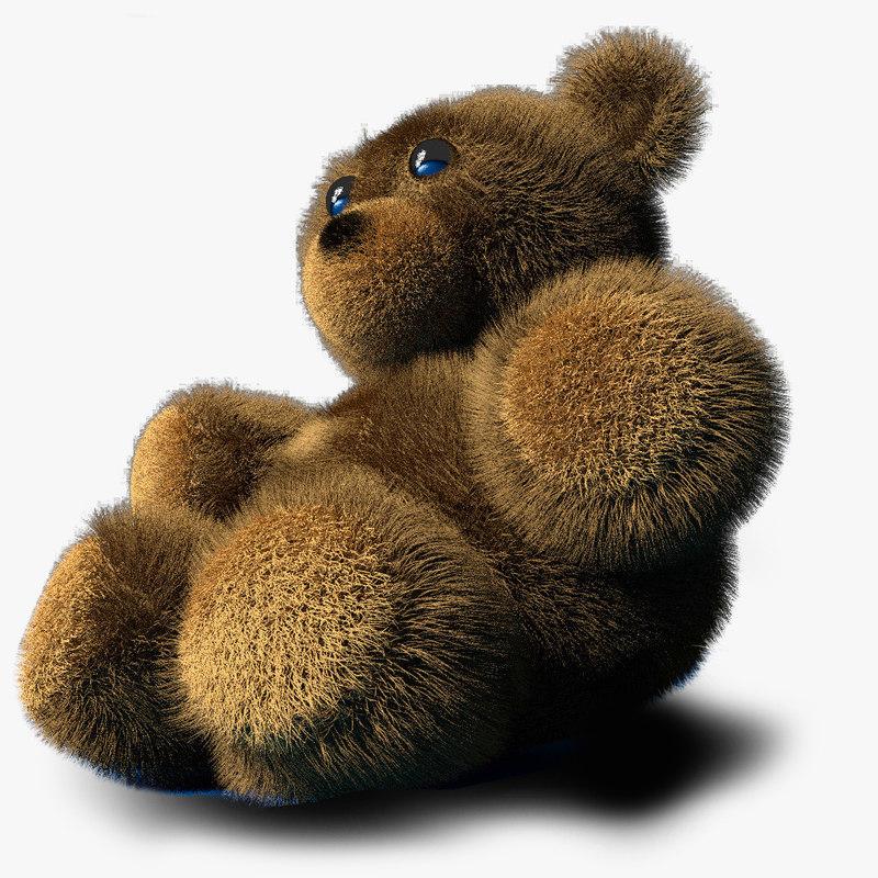 teddy bear obj