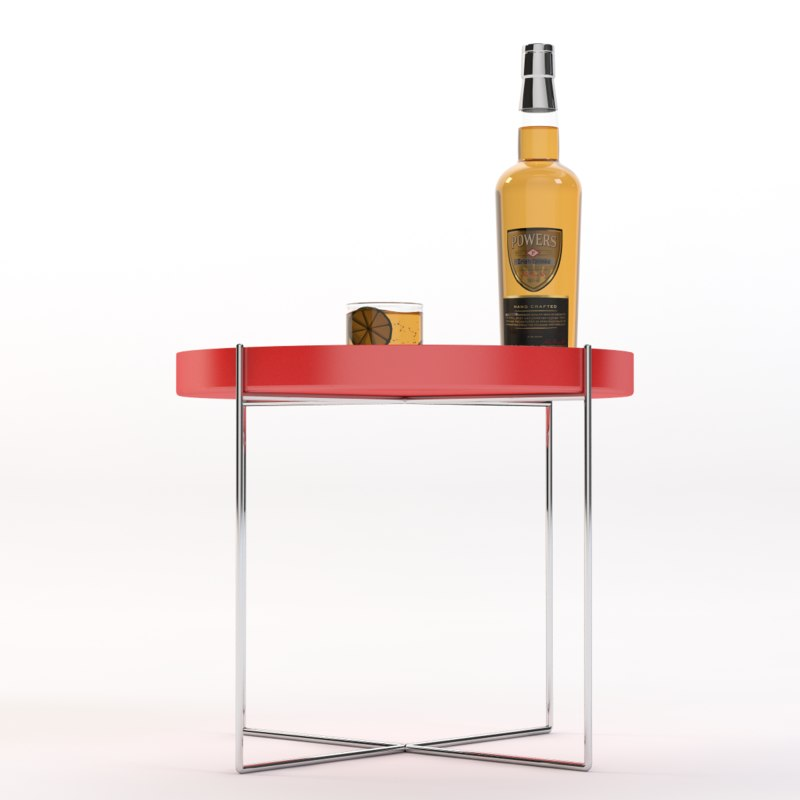 table realistic photoreal 3d model