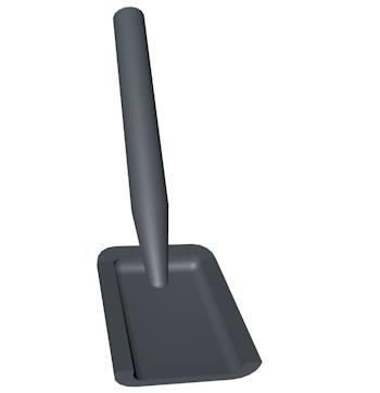 lego spade shovel 3d c4d