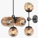 Modo Chandelier 5 Globes