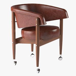 3d armchair beg linbrasil