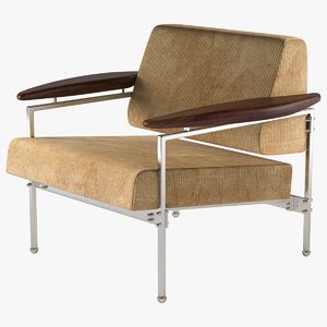 armchair beto linbrasil 3d max