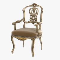 Ebanista DAUPHINE II ARM CHAIR
