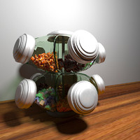 candy stand 3d max
