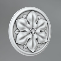 Carved rosettes 56