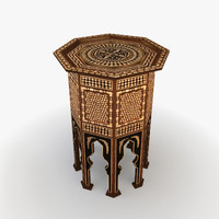 3d max moroccan furniture turkish