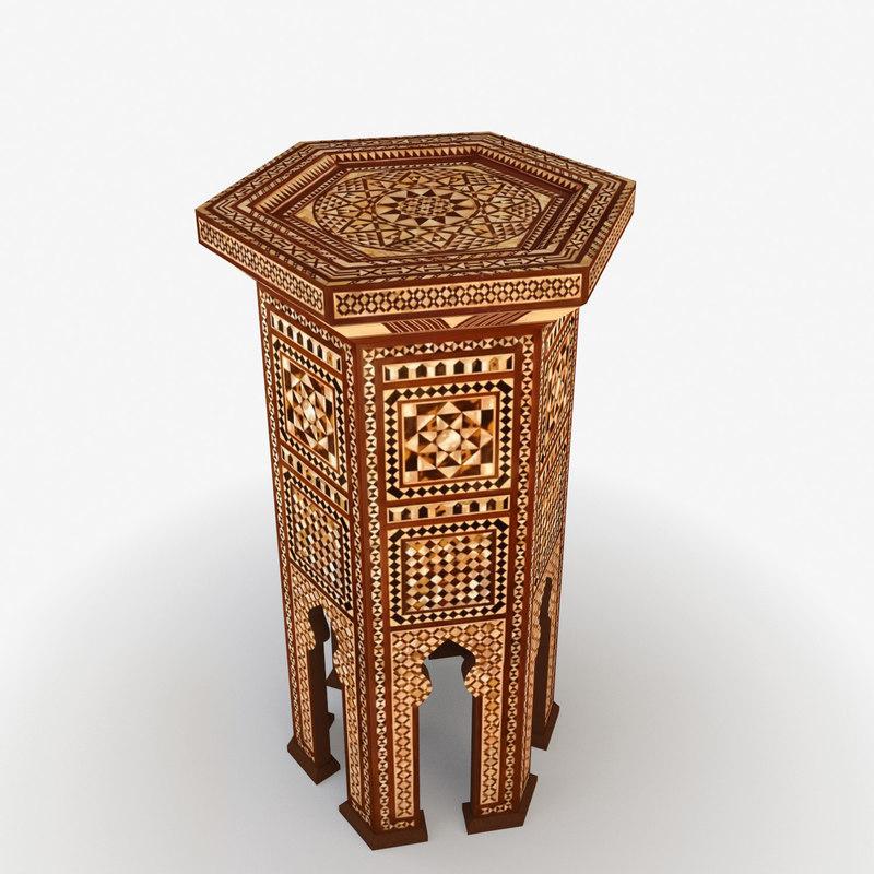 3d moroccan turkish model
