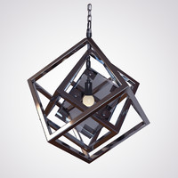 3d model cubis chandelier