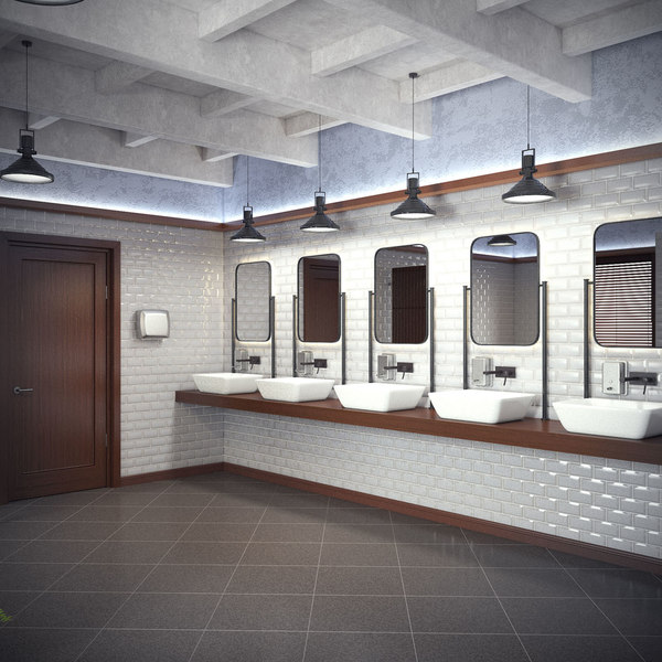 3d restroom