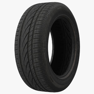 tyre 215 55 3d max