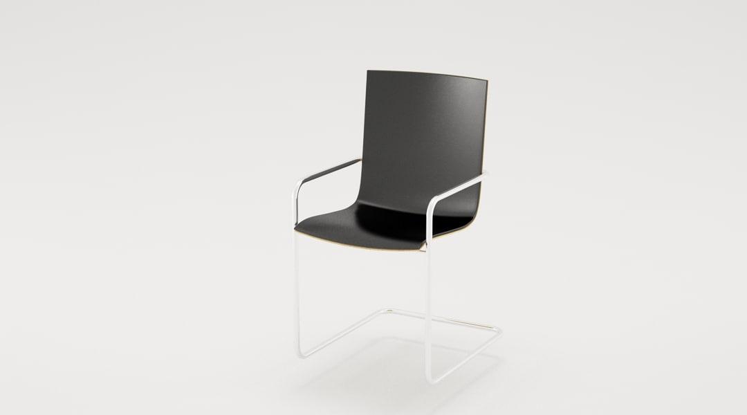 hammok meeting chair 3d model