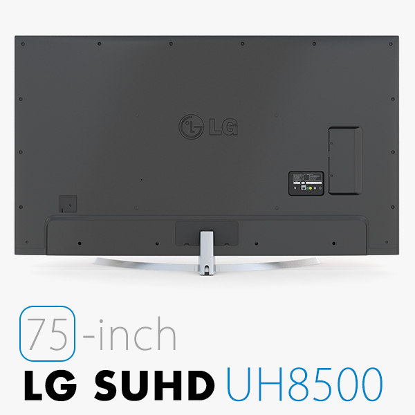 3d model lg tv uhd