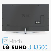3d model lg tv uhd