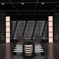 news studio 3d max