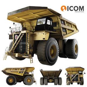 heavy haul truck 3d max