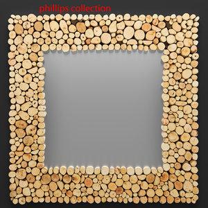 manila mirror 3d max