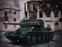 3d t-34-85 soviet tank t-34