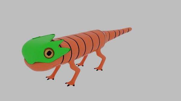 pit lizard character obj
