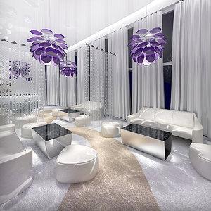 exclusive vip interior design obj