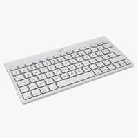 3d model wireless keyboard genius keys
