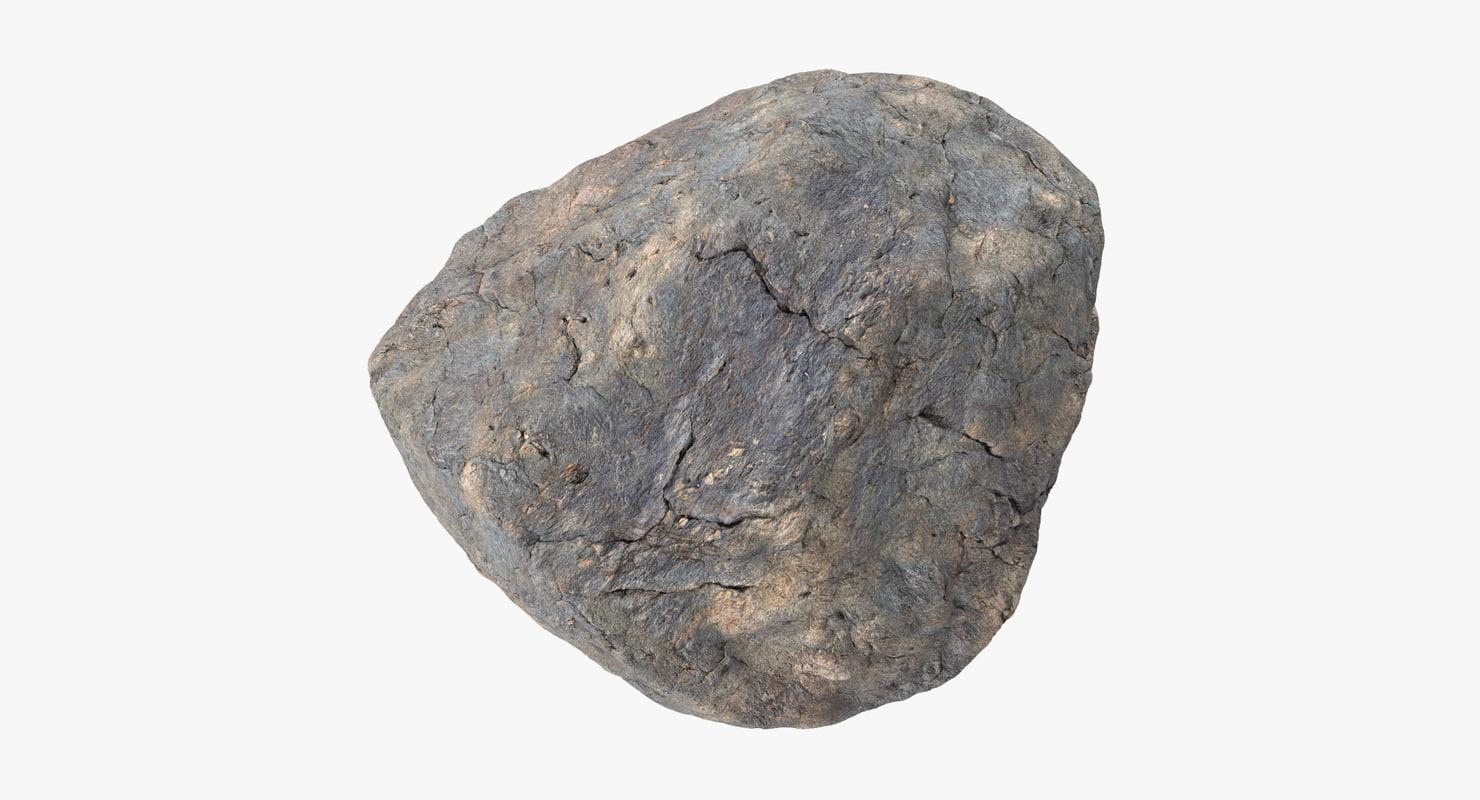 3d rock 04