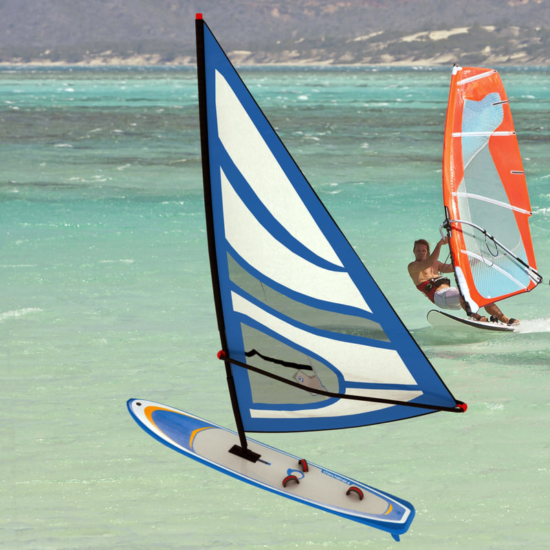 3d windsurfing board model