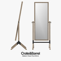Crate & Barre - Malvern Cheval Floor Mirror