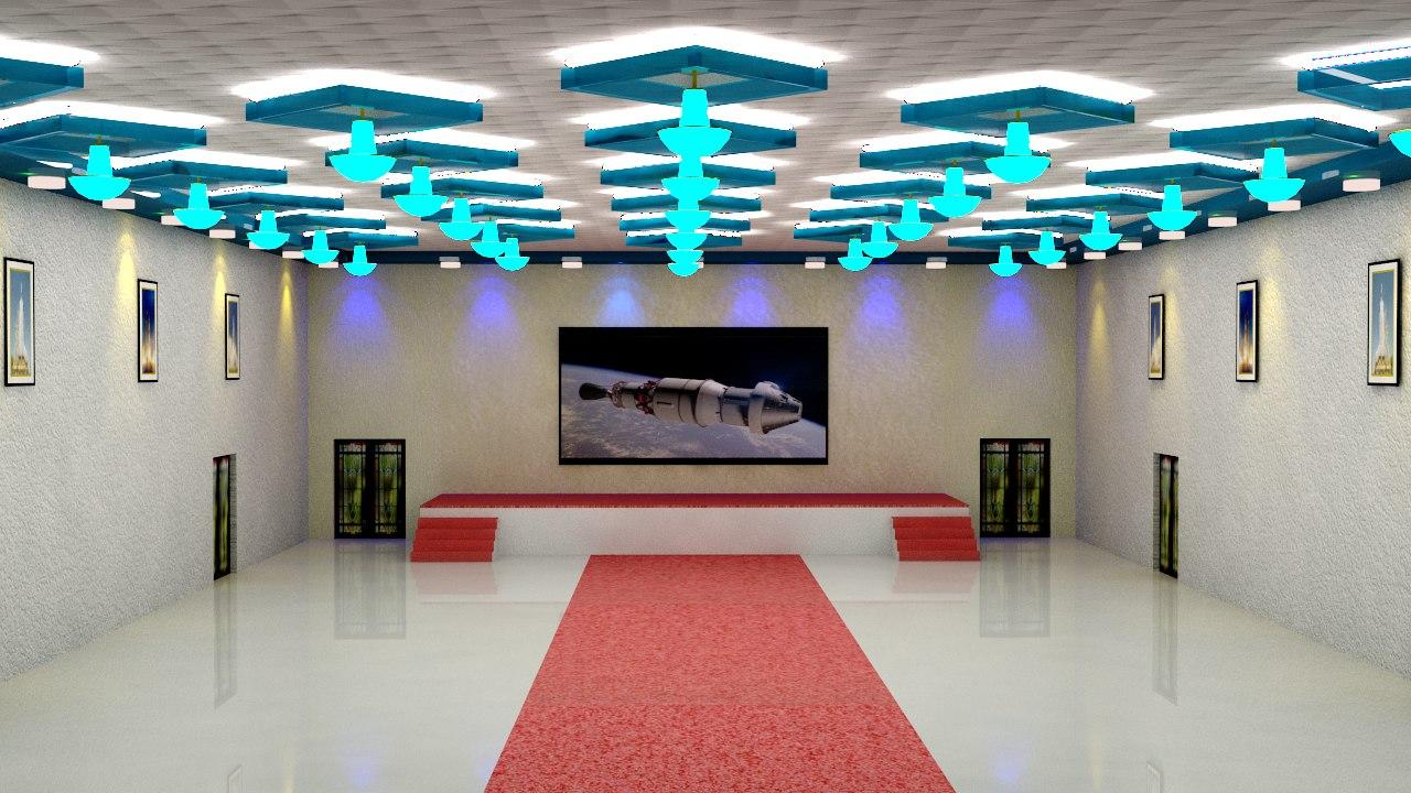D Max Exhibition Hall : Banquet hall d max