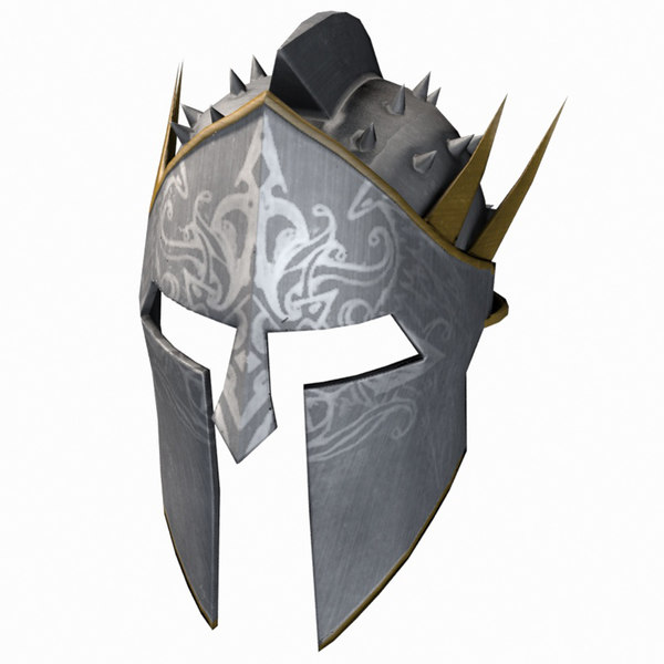 3d model helmet helm spiked
