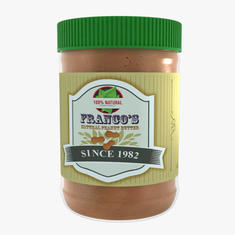 custom peanut butter max