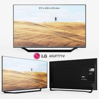 LG TV 43UF771V