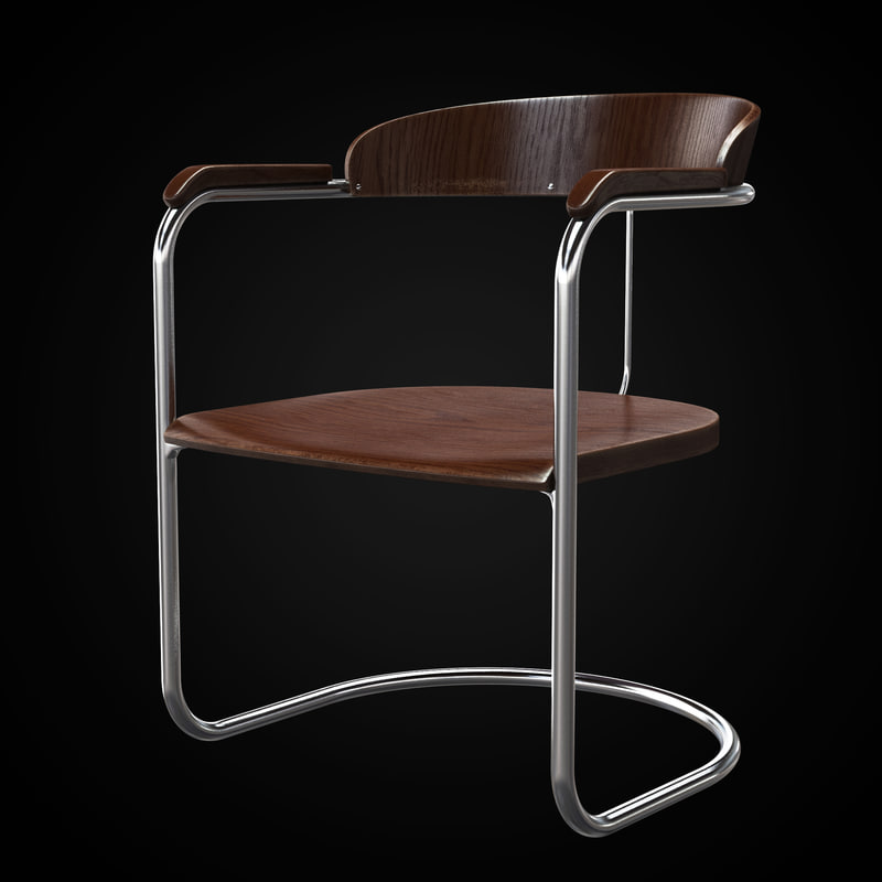 3d ss33 chair model