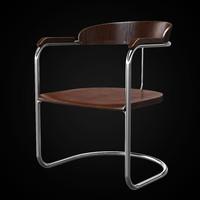 3d ss33 chair model