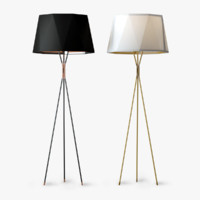 3d model usona floor lamp 13309