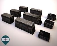 3d black book model