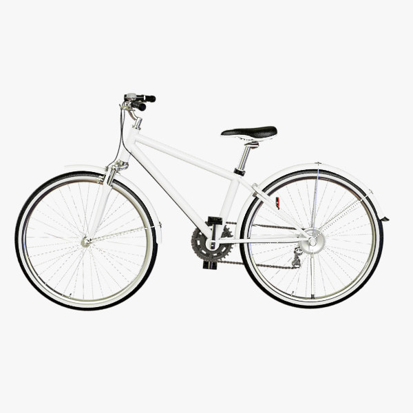 cross bike 3d max
