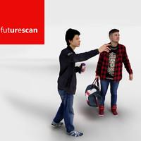3d model of photorealistic scene