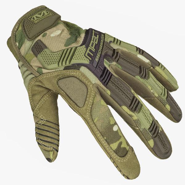 3d mechanix glove mpact model