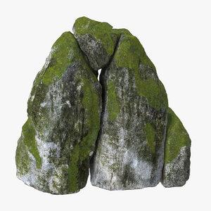 3d model boulders 02