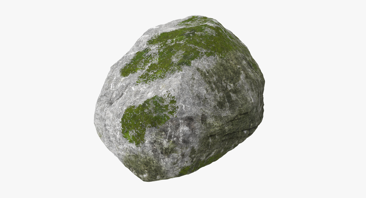 boulder 03 3d model