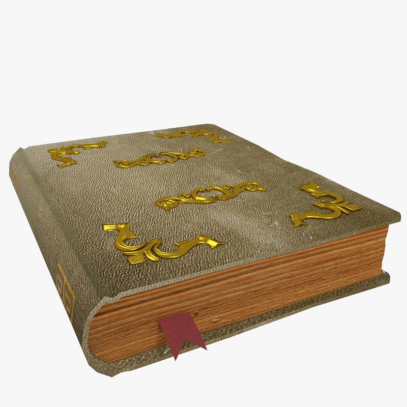 old book obj