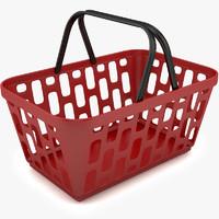 plastic basket 3ds