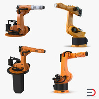 kuka robots 4 3d 3ds