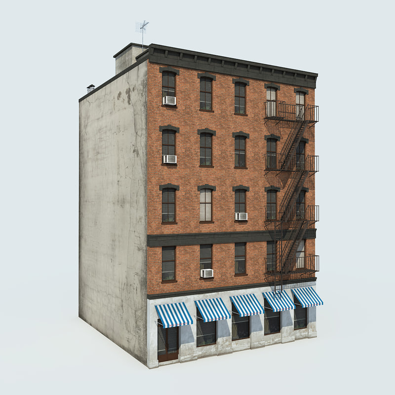 3d model of nyc building 1