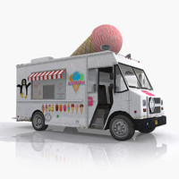 3ds truck ice cream
