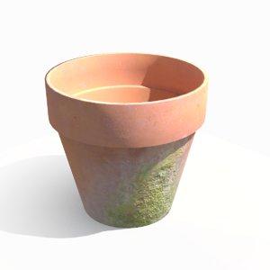 pot terracotta obj