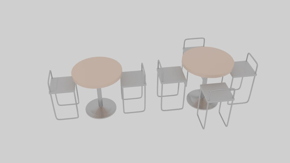 3ds exhibit dining table
