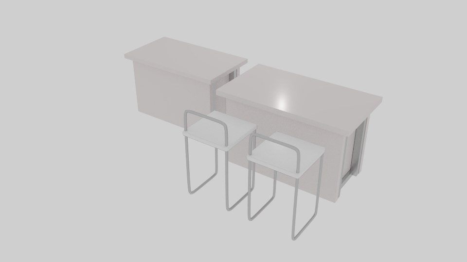 3ds receptionist table